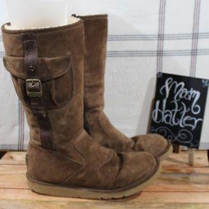 Ugg Cargo Pocket Zip Boots